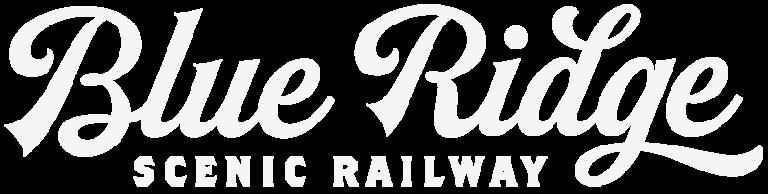 Blue Ridge Scenic Railway Logo in White